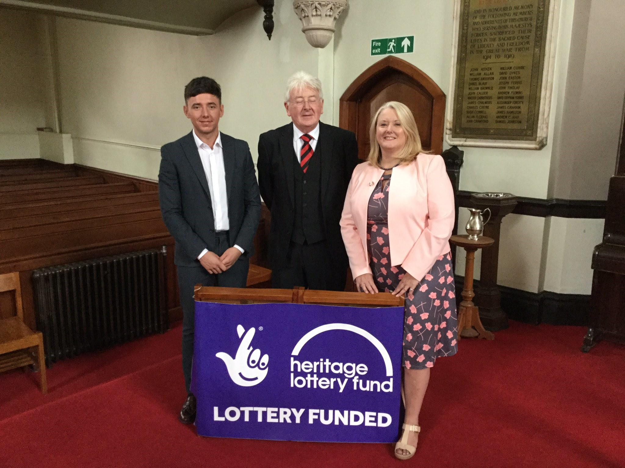 Cadzow Parish Church Heritage Lottery Fund