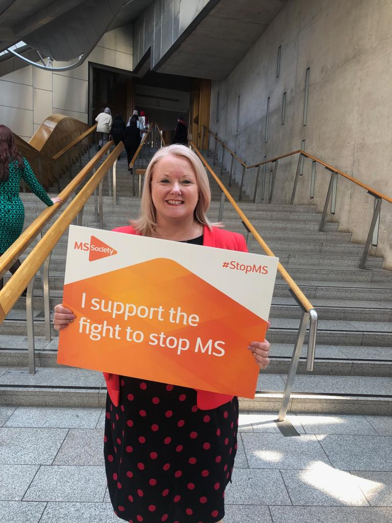 Christina McKelvie MSP MS Society Scotland