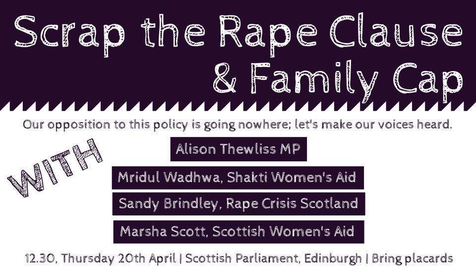 Scrap the Rape Clause Graphic