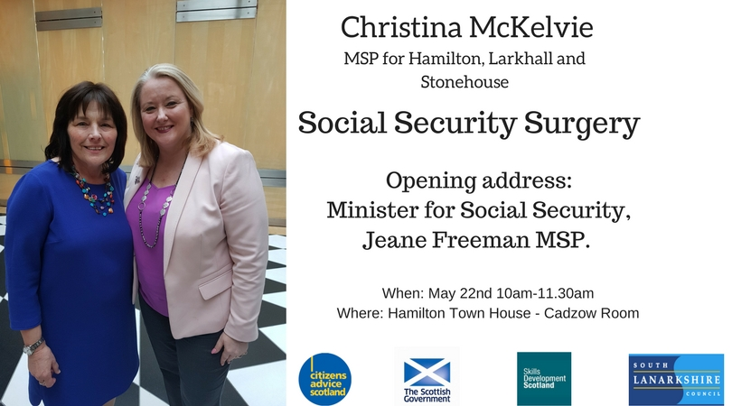Social Security Surgery Poster