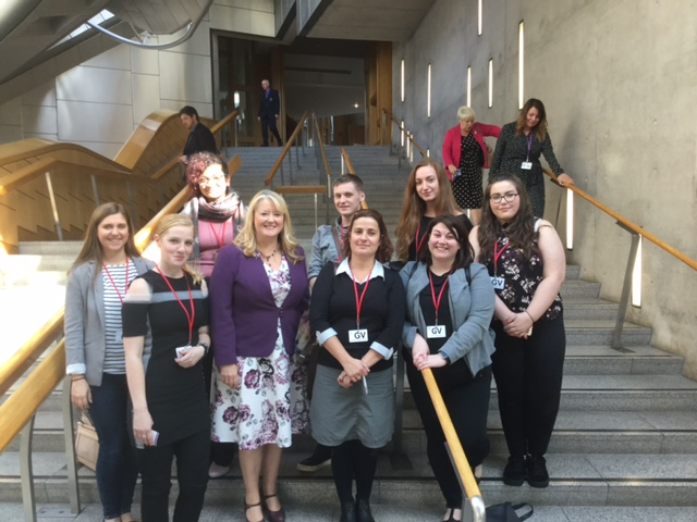 Standing safe Students in Parliament
